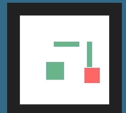 JS网页特效小游戏,拖动红色区域移动