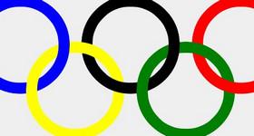css3 border-radius实现的奥运五环