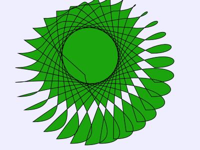 bezierCurveTo绘制贝塞尔曲线