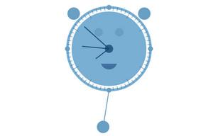 HTML5小熊时钟