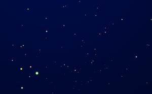 HTML5 Canvas闪闪星空效果